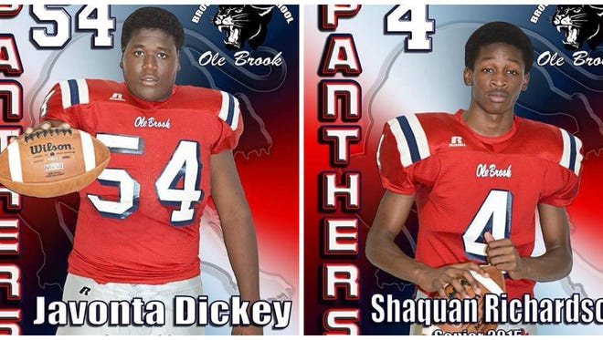Javonta Dickey and Shaquan Richardson