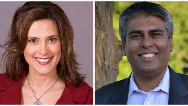 Sen. Gretchen Whitmer and Rep. Sam Singh are East Lansing Democrats.