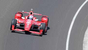 Scott Dixon won the pole for the Indianapolis 500 in his championship-winning season.