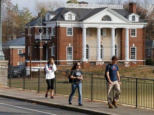 UVa Fraternity Rolling Stone