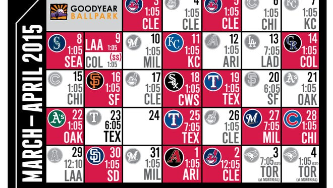Reds' Cactus League schedule