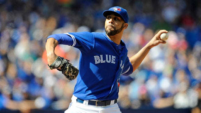 David Price went 18-5 with a 2.45 ERA in 2015, striking out 225.