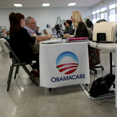 Signing up for health insurance coverage on Feb. 5