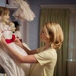 "Annabelle Wallis stars in the horror film ""Annabelle."""