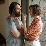 """Carol (Kristen Schaal) and Phil (Will Forte) spend quality time together in  """"The Last Man on Earth"""" on Fox"""