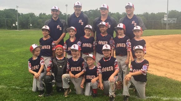 North Asheville Little League's 7-8 year old All-Star