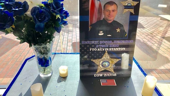 Joe Rodriguez, the owner of a Titusville McDonald's, is honoring two fallen Brevard County deputies by reserving them a table at his restaurant.