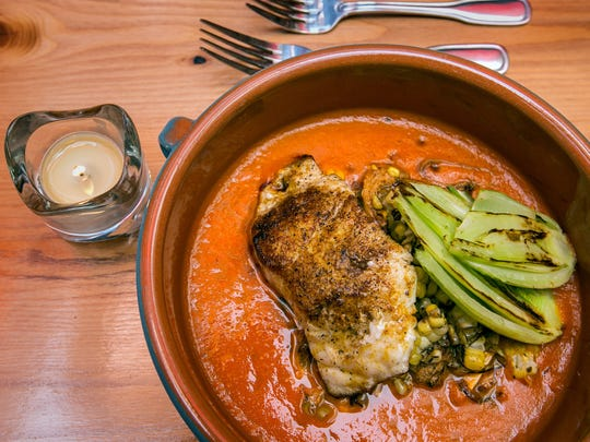 Red grouper at Amilinda, 315 E. Wisconsin Ave.
