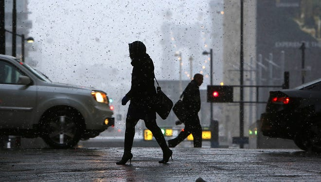While it could snow on Christmas, be aware of the potential for strong winds and rain on Christmas Eve.