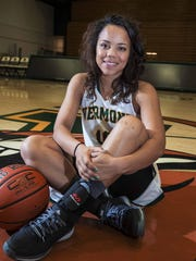 University of Vermont's women's basketball player Kylie