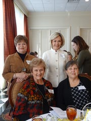 Sara Shamblin, Eva Colvin, Carolyn Rester and Dorothy