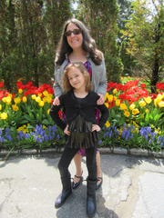 Evelyn Gilbert Manziello is shown with her daughter Ella last year on Mother's Day.