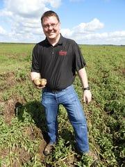 Jeremie Pavelski, President of Heartland Farms, was
