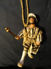 King Francis I of France ornament purchased in Amboise in the Loire Valley