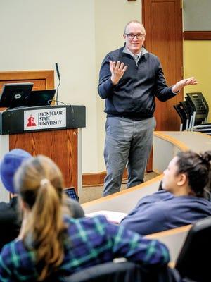 Christopher Matthews, anthropology professor at MSU