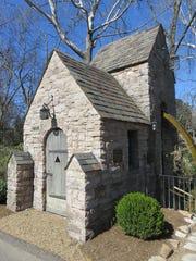 Coach Robert Neyland passed small stone mill house