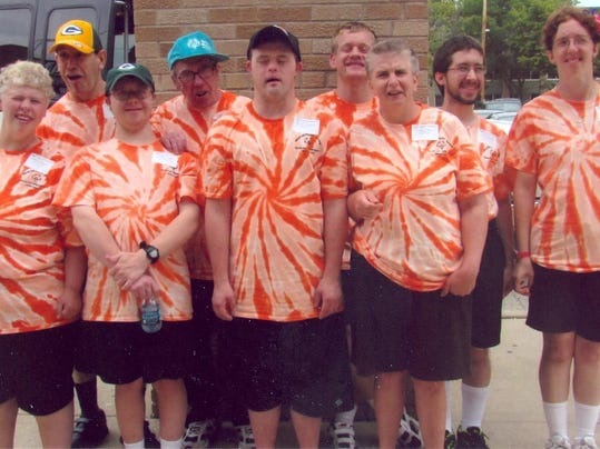 Special olympics team