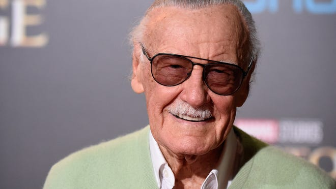 Comic book icon Stan Lee died Nov. 12 at 95. (Photo by Frazer Harrison/Getty Images)