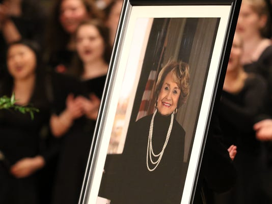 Louise Slaughter funeral