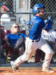 Canterbury School's Aaron Gebig bats against Southwest Florida Christian Academy recently at SFCA in Fort Myers.