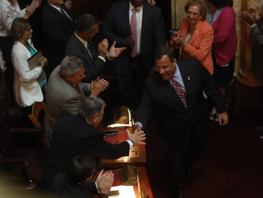 Governor Chris Christie and the state legislature try to hammer out a budget to end the goverment shutdown.
