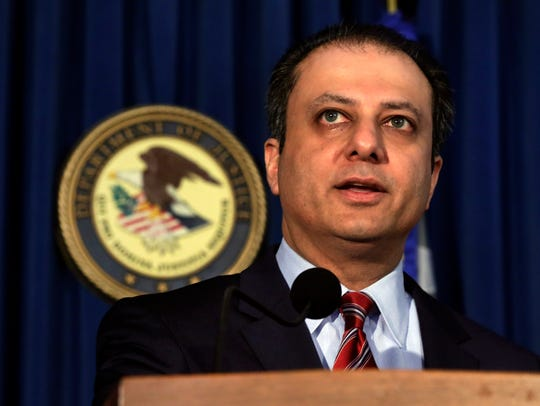 Preet Bharara, U.S. attorney for the Southern District