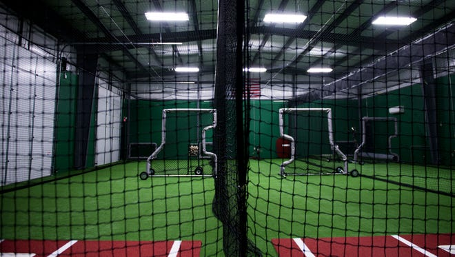 Triple Play Athletics, a new baseball and softball training facility in Clarksville.
