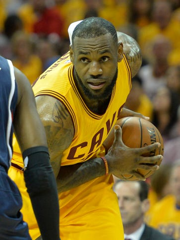 LeBron James is still a freakish athlete who can take