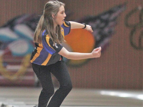 Kaylee Hitt of Campbell County during the KHSAA state