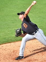 Pitching prospect Austin Sodders was 11-5 in his first