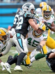 Wisconsin Rapids native Vince Biegel received limited playing time in the last nine games of his rookie season and finished with 16 tackles for the Green Bay Packers.