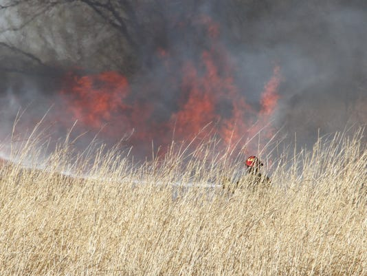 Alamogordo grass fire