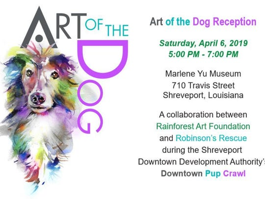 event-art of dog