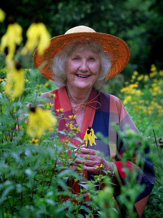Lorrie Otto - godmother of natural landscaping movement