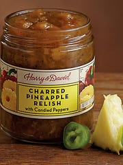 Charred Pineapple Relish