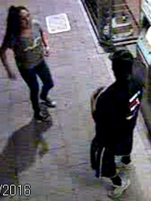 Police say these two people might have witnessed a stabbing on July 20, 2016, near a light-rail station at 19th Avenue and Camelback Road.