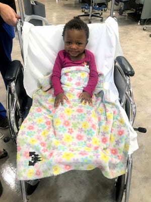 Ruby Benevedes is a 4-year-old in Smyer who has Sickle cell disease and is searching for a donor to help with a bone marrow transplant.