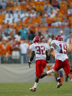 Nate Jones returned the opening kickoff 100 yards for a TD when Rutgers met Tennessee before 103,925 in 2002.