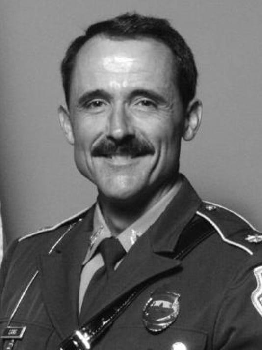Retired State Police Major Bruce Lang
