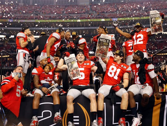 top 100 college football teams national football championship 2015