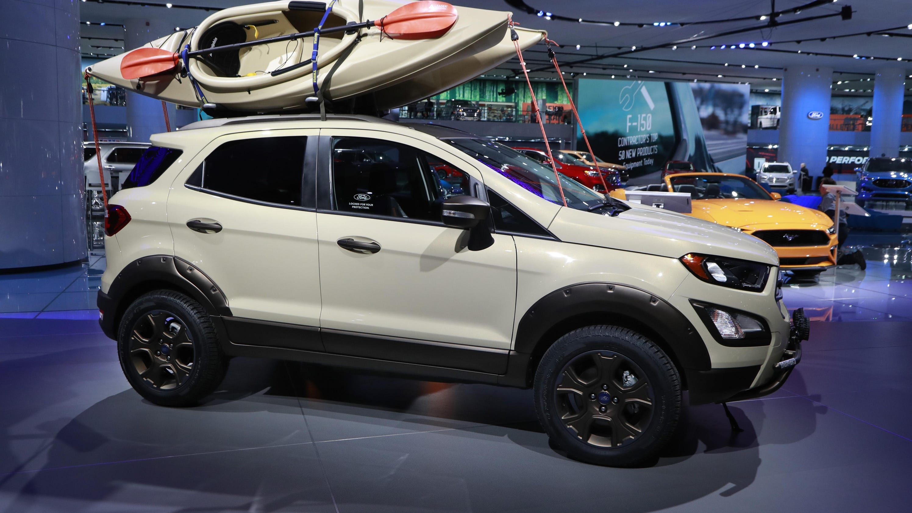 ford seeks to make up lost ground with ecosport suv. Black Bedroom Furniture Sets. Home Design Ideas