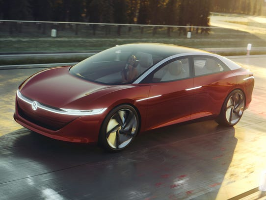 Based on the MEB platform, the Volkswagen I.D. VIZZION