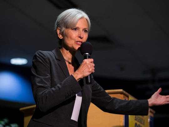Jill Stein, the Green Party nominee for president in 2016