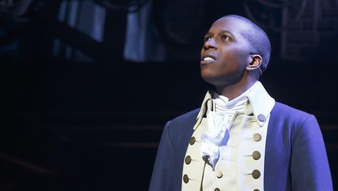 "Leslie Odom Jr. won the Tony Award for his performance as Aaron Burr in ""Hamilton."""