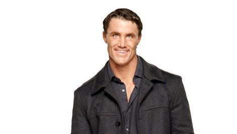 Greg Plitt in a promotional photo for Bravo's 'Friends to Lovers.'