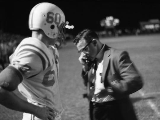Leon coach Gene Cox was the winningest coach in Florida