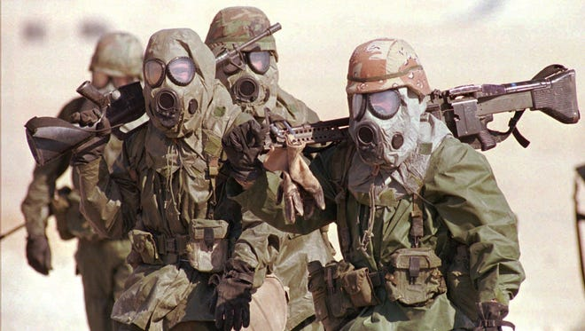 Gulf War service has been linked to a chronic multisystem disorder.
