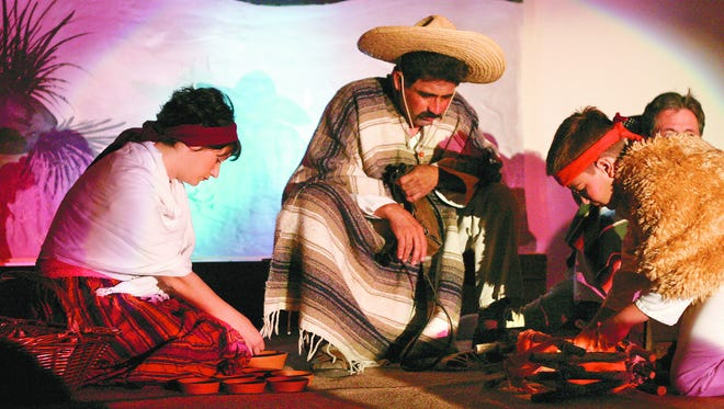 """""""Los Pastores"""" has been performed in the Mesilla Valley since 1961. This photo is from 2003."""