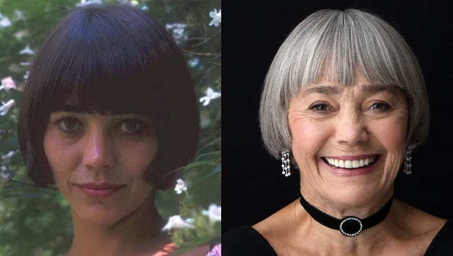 Susan Watson early in her career and today.