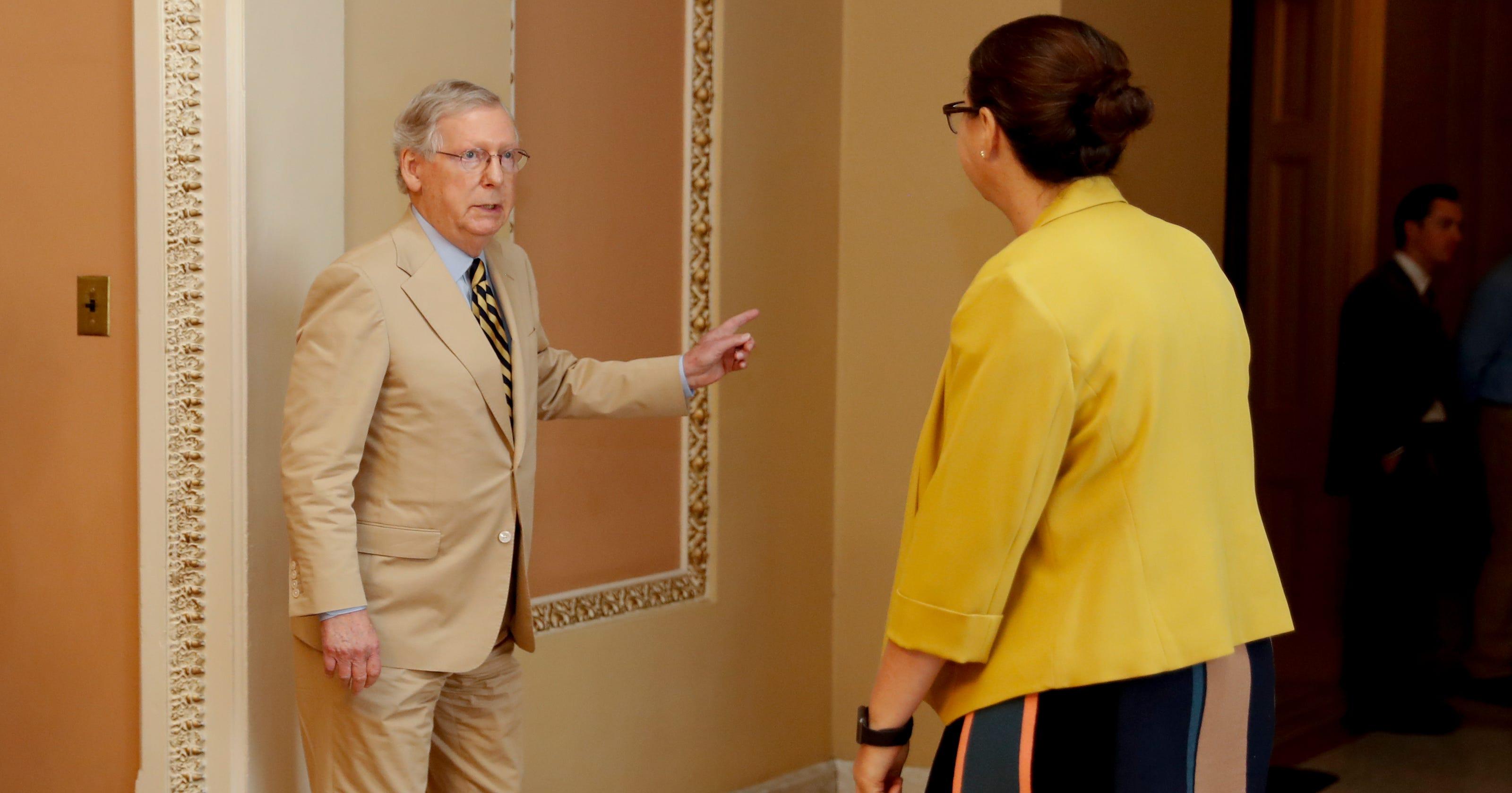 Lacking votes, Senate GOP delays health care vote